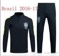 Wholesale 2014 Brazil World Cup Top Thai Brazil Home Neymar JR soccer training suit new products free delivery