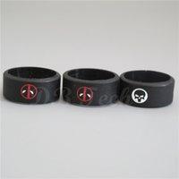 Wholesale Muti Design silicone rubber Vape Ring Rubber Anti Slip Band for Mechanical Mod RBA RDA Tank