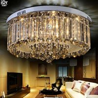 cornucopia - Luxury crystal lamp living room lamp led round lamp lighting atmosphere bedroom modern cornucopia Ceiling Lights wwy