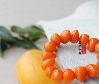 amber fashion ring - Chicken yellow beeswax amber bracelet Women irregular fashion elegant