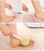 Wholesale Cute New Candy Pumice Stone Foot Care Scrub Dead Hard Skin Callus Remover Pedicure Tool Stone Foot Care