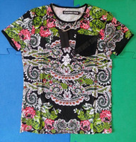 Wholesale Hot Style Brand New With Tags Great Quality Men s Denis Simachevv Printed T Shirt Classic Printing Design Pocket on Left Chest Summer Tee