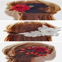 Wholesale Women Lady Flower Wedding Jewelry Headbands Party Hair Jewelry Statement Jewelry Hair Jewelry Valentine Gift Styles