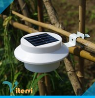 Wholesale Energy saving LED solar Wall light LEDS IP65 waterproof Wall light Automatic charging induction NO OFF