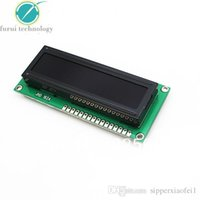Wholesale New LCD Module Black Background white Characters LCD Display LCM Module x2