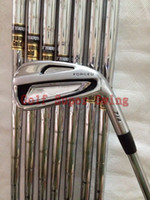 Wholesale Brand New Golf Irons Set AP Forged Golf Clubs P Dynamic Gold Steel Shafts DHL