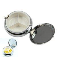 Wholesale Metal Pill Boxes DIY Medicine Organizer Container Medicine Case E00065 CAD