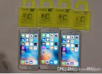 Wholesale 2016 R SIM RSIM rsim10 puls unlock card for iphone s plus s IOS7 X X AT T T mobile Sprint WCDMA