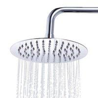 Wholesale S5Q High Quaility Round Stainless Steel Bath Rain Shower Head Sprayer Shower Head AAAGDL