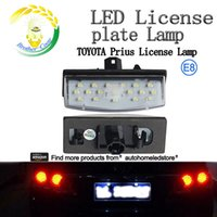 Wholesale 2pc X LED License Number Plate light Easy Installation for Toyota Prius Lexus CT200H with E8 Certificate