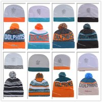 basketball miami dolphin - Miami Football Beanies Winter High Quality Beanie For Sale Dolphins Beanie American Football Cool Skull Caps Skullies Knit Cotton Hats