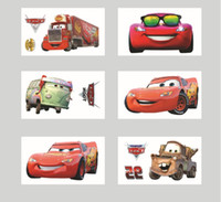Wholesale ALL cm ECO FREINDLE Mixed Cartoon Cars design adhesive brand henna kids Tattoo Stickers for children