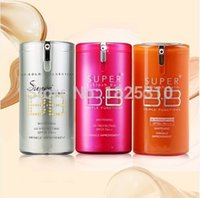 sunscreen - factory price New Hot Red and Gold Barrels Skin Whitening BB cream g sunscreen SPF25 PA korean face foundation makeup freeshipping DHL