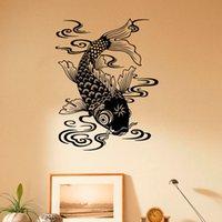 beautiful marine fish - Beautiful Design Fish Wall Decal Marine Fish Vinyl Sea Animals Art Wall Stickers Home Decoration
