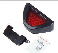 Wholesale Fashion Car Use F1 Style LED Lamp Car Brake Light Car Reverse light Lamp Vehicle Warning Strobe Flash Light DC12V Red