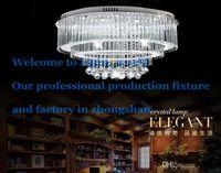 bedroom chandelier ideas - Oval chandelier luxury European led ceiling bedroom lighting idea atmospheric living room lamps