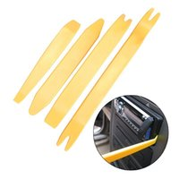 Wholesale 4 Kit Practical Auto Car Radio Install Panel Plastic Trim Removal Tool Set Prying tools
