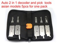 asian car models - Auto in1 decoder and lock picks asian car models of one pack use for NSN11 TOY2 TOY43 HON66 MIT8