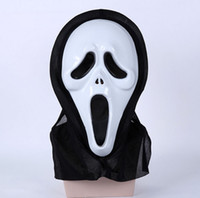 Wholesale Holiday party costume ball moving the face mask Mask scream of terror The skeleton ghost mask Halloween mask