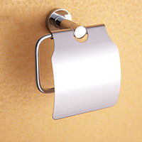 Wholesale Paper Towel Box Stainless Steel and Copper Roll Holder for Bathroom Chrome Wall Mounted Toilet Paper Holders