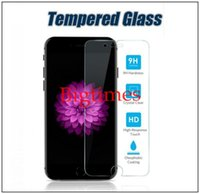 Wholesale Tempered Glass Screen Protector For Iphone Film Screen Protectors For LG G Stylo LS770 Galaxy J7 iPhone No Pakcage