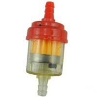 Wholesale 7pcs Red Dirt Bike Plastic Gas Fuel Filter For cc cc cc cc cc China ATV Dirt bikes Go Karts Scooters