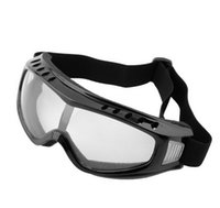 airsoft eye protection - Transparent Protection Glasses Unisex Safety Goggles Motorcycle Cycling Eye Tactical Paintball Wind Dust Airsoft Goggles New