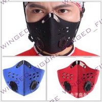 Wholesale Mountain bike sports masks masks activated carbon masks pm2 warm wind and dust