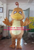 big platypus - Humour Brown Platypus Duckbill Duckmole Mascot Costume Cartoon Character Mascotte Big Stomach Hands Short Legs No Free Sh