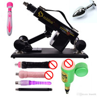 Wholesale Sexual Machines For Men - Hismith Automatic Sex Machine Gun with Dildo Automatic Sexual Intercourse Machine for Men and Women Free Gift Vibrator and Anal Plug