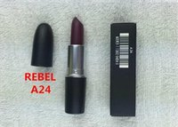 Wholesale Hot quality mineral makeup lipstick Classic red lipsticks fashion satin and matte color lipstick FACTORY