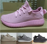 Wholesale 2016 original boxes Yeezy Boost shoes Kanye West Mens Womens Sports Running Walking athletic shoes sneakers