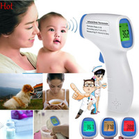 Wholesale New Multi Purpose Infrared Baby Adult Digital Thermometer Non contact Forehead Body Digital Thermometer Baby Care Device Three color