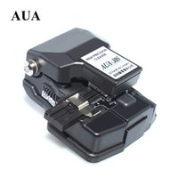 Wholesale AUA S Fiber Cleaver High Precision Cable Cutter Welding Machine Special Cutting Knife Comparable Fujikura CT