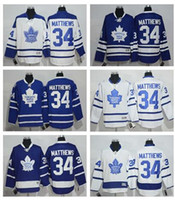 Wholesale 2016 new Draft Matthews Men s Toronto Maple Leafs Auston Matthews Hockey jersey High Quality Stitched Mix order