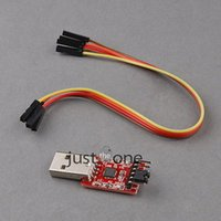 Wholesale Pin USB to UART TTL Serial Converter CP2102 STC PRGMR modules Hot