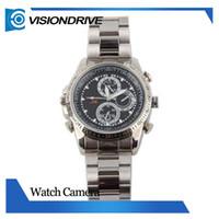 Wholesale KSAD SC8 GB Waterproof Watch Camera Vioce Audio Recorder Invisialbe DV DVR pinhole invisible Camera
