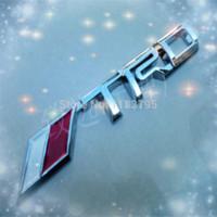 Wholesale SCION TRD ADHESIVE EMBLEM M3674 emblem emblem d emblem badge