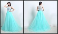 art stocks - 2016 Modest Cheap Prom Dress In Stock Free Fast Shipping Upper Lace Formal Dress Elegant Evening Gowns With Train Special Occasion Dresses