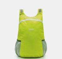Wholesale New arrival Male and female Unisex models outdoor ultralight folding skin bag backpack bag waterproof portable comfortable light bag