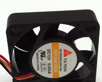 aluminum hard drive cooler - Y S TECH FD124010LB V A Wires Cooling fan