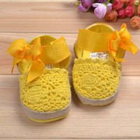 Wholesale New Fashion Baby Fretwork Girl Sandals year old girl shoes infant baby shoes