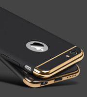 Wholesale New Arrive Case for Apple iPhone s phone shell luxury plating Phone Case for iphone s plus
