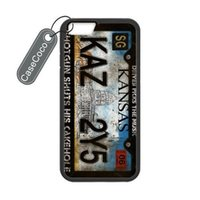 abs number - Supernatural Car Number Custom Hard Plastic Rubber Case for iPhone S Send a screen protective film