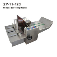 Wholesale ZY Stainless steel Medicine box coding machine medicine box small carton printer produce date printer Produce batch number printer