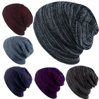 Wholesale Unisex Knitted Beanies Trendy Weaven beer men cloth Autumn Winter Wool Cap Hip Hop Head Warmer Ear Camouflage bucket hats