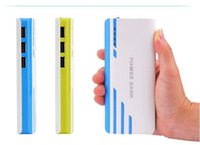 android portable external battery charger - 20000mAh Power Banks USB External Battery With LED Portable Power Banks Charger For iPhone s Samsung s6 Android Phones