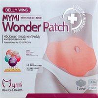 Wholesale MYMI Wonder Slimming Patch Belly Abdomen Weight Loss Fat burning Slim Patch Cream Navel Stick Efficacy Strong