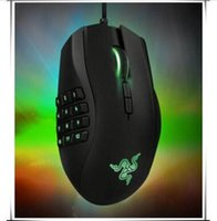 Wholesale Optical Gaming Mouse Buttons Hexagram Breathing lights d Mouse Naga Game Moba Mice