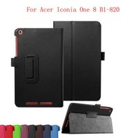 acer shield - Business Pu Leather Stand Case Cover Shield For Acer Iconia One B1 Tablet With Hard Shell